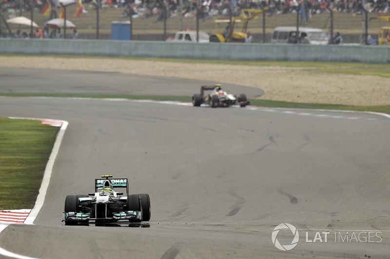 Race winner Nico Rosberg, Mercedes AMG F1 W03