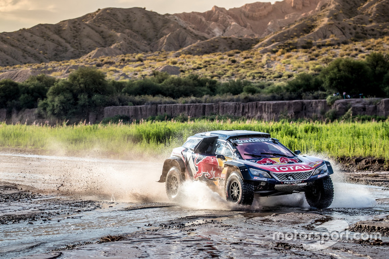 Карлос Сайнс, Лукас Круз, Peugeot 3008 DKR