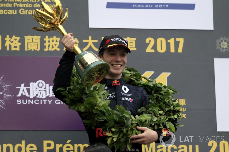 13. Ден Тіктем – 7-й у Єврокубку Формули Renault 2.0, 11-й у GP3, переможець Гран Прі Макао, 2 перемоги, 4 подіуми