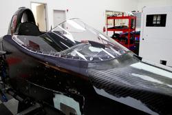 Der mögliche IndyCar-Cockpitschutz vor dem ersten Test