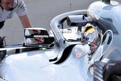 Lewis Hamilton, Mercedes AMG F1 W09 mirror