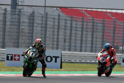 Jonathan Rea, Kawasaki Racing, Marco Melandri, Aruba.it Racing-Ducati SBK Team