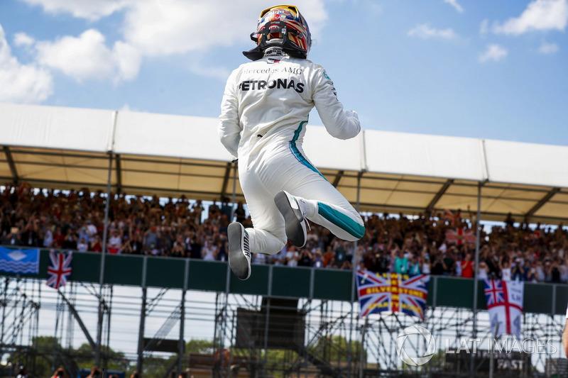 El poleman Lewis Hamilton, Mercedes AMG F1