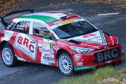 Giandomenico Basso, Lorenzo Granai, Hyundai i20 R5, BRC Racing, Sieger