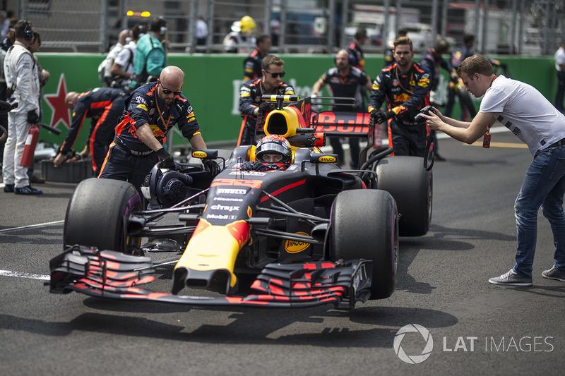 Max Verstappen, Red Bull Racing RB13, Red Bull Racing