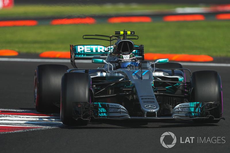 4º Valtteri Bottas, Mercedes-Benz F1 W08