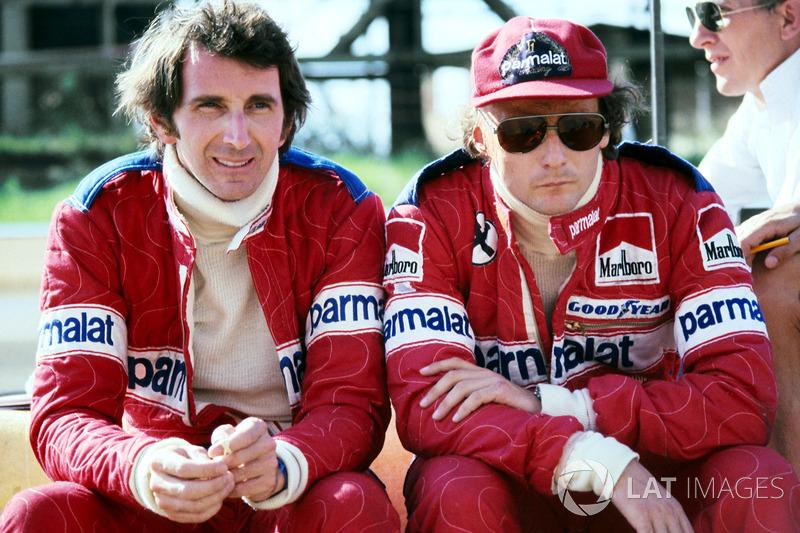John Watson e Niki Lauda, Brabham
