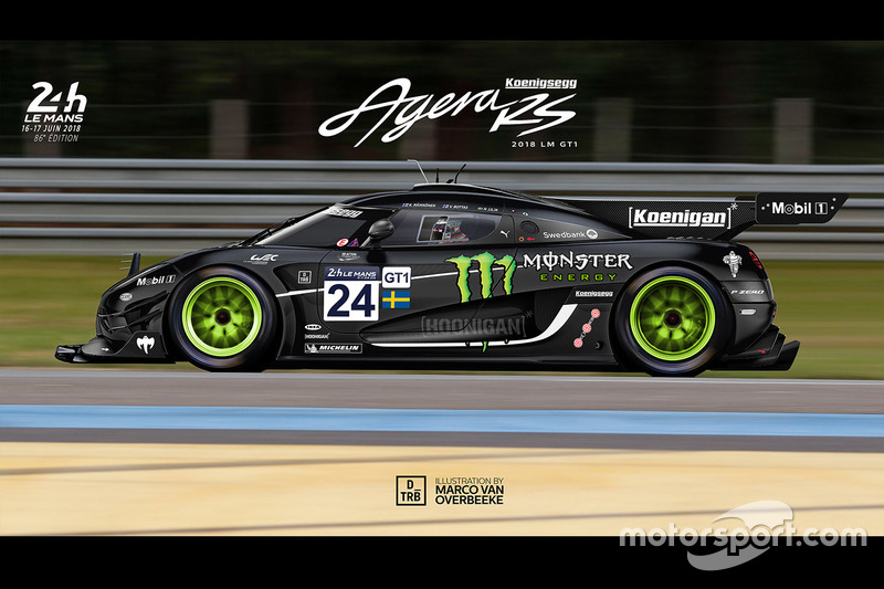 Ilustrasi Koenigsegg Agera RS GT1