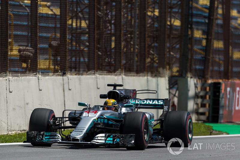 1. Lewis Hamilton, Mercedes-Benz F1 W08