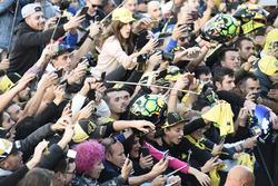 Fans von Valentino Rossi