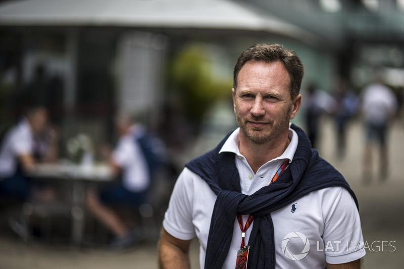 Christian Horner, director Red Bull Racing Team