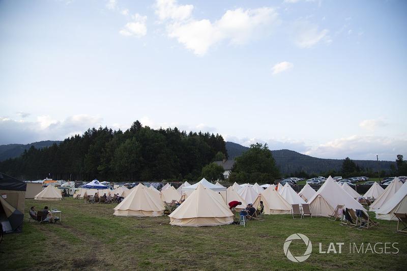 Лагерь болельщиков
