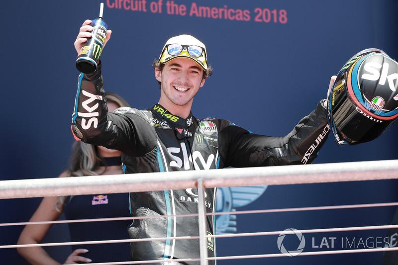 Francesco Bagnaia, Sky Racing Team VR46, vainqueur de la course