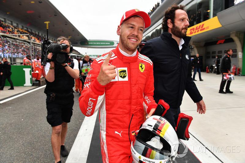 3. GP Tiongkok - Pole: Sebastian Vettel