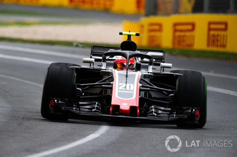 Kevin Magnussen, Haas F1 Team VF-18 Ferrari