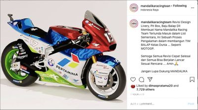 Lancio del Mandalika Racing Team Indonesia (MRTI)