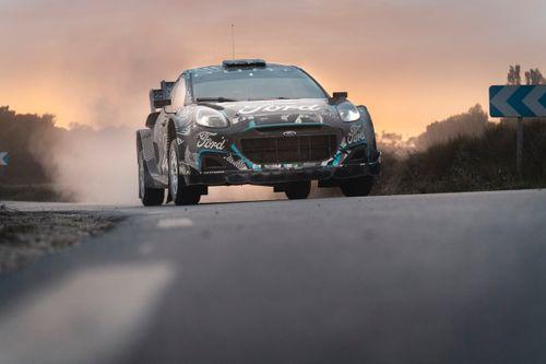 Craig Breen i Paul Nagle - Testy Forda Pumy Rally1