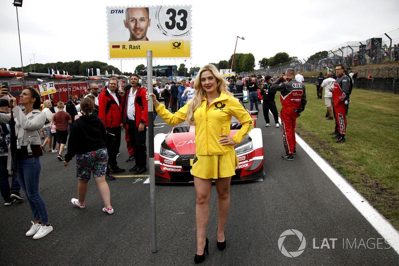 Chica de la parrilla, René Rast, Audi Sport Team Rosberg