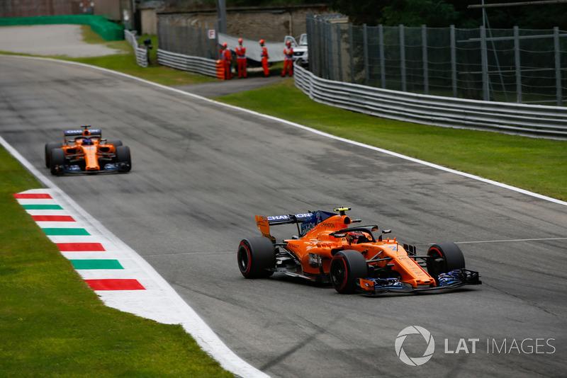 Стоффель Вандорн, Фернандо Алонсо, McLaren MCL33