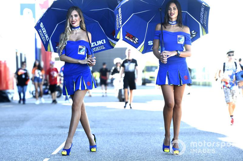Lányok a MotoGP-ből - Aragon