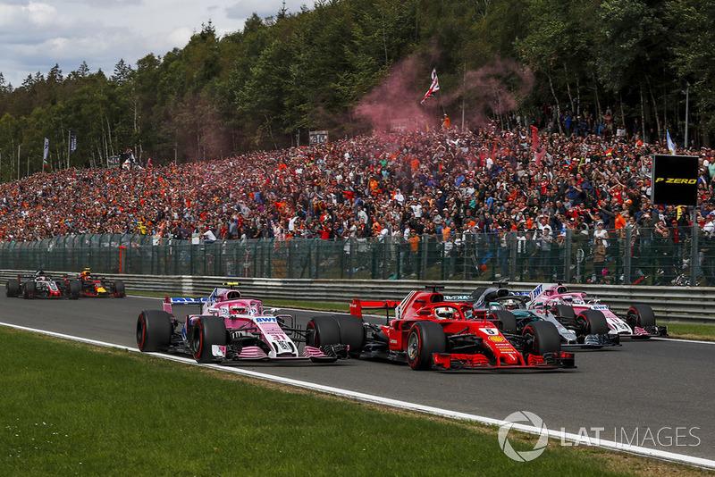 Belga Nagydíj - F1 2018 - TOP-30