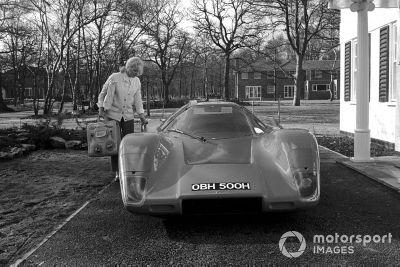 Pilotos de carreras en casa 1970
