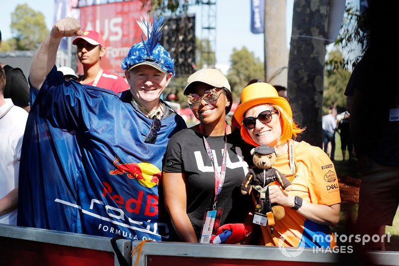 Red Bull Racing, Lewis Hamilton and McLaren fans