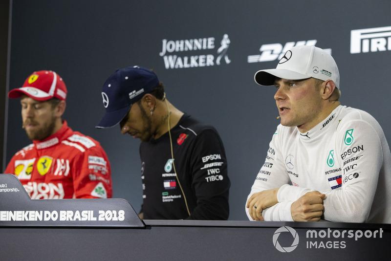Себастьян Феттель, Ferrari, Льюіс Хемілтон, Валттері Боттас, Mercedes AMG F1