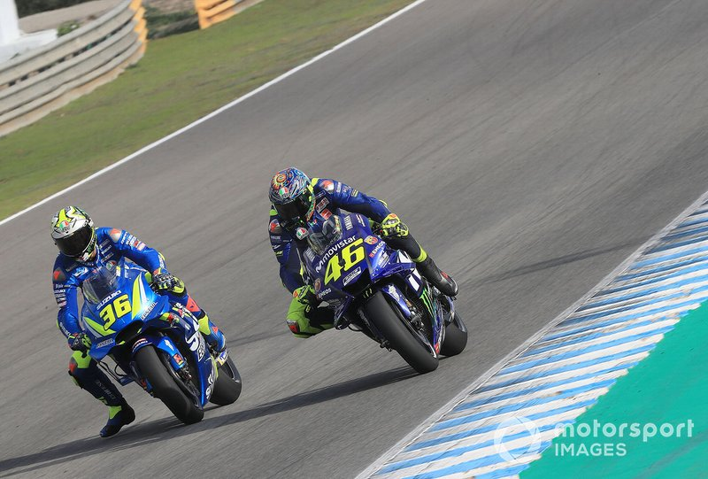 Хоан Мір, Team Suzuki MotoGP, Валентино Россі, Yamaha Factory Racing