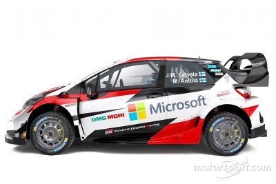 Toyota Yaris WRC onthulling