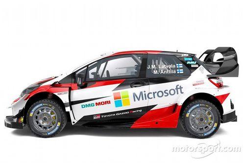 Présentation de la Toyota Yaris WRC 2019