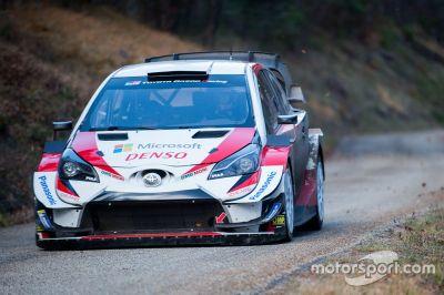 Test di dicembre della Toyota Racing