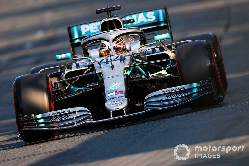 2. Lewis Hamilton, Mercedes AMG F1 W10