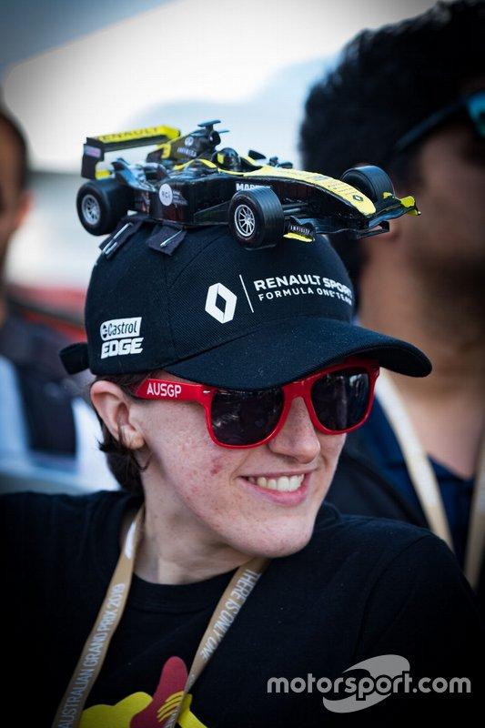 Renault F1 Team fan
