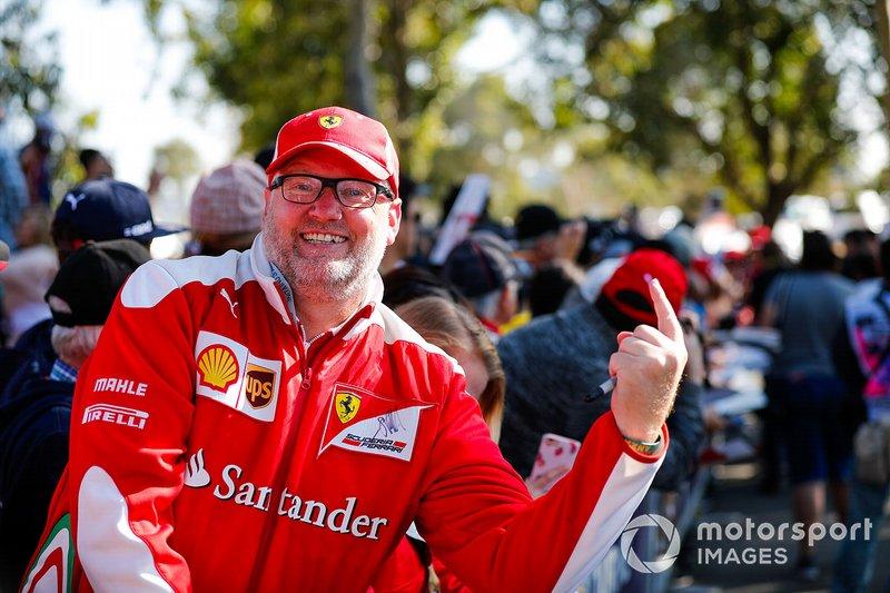 Болельщик Ferrari