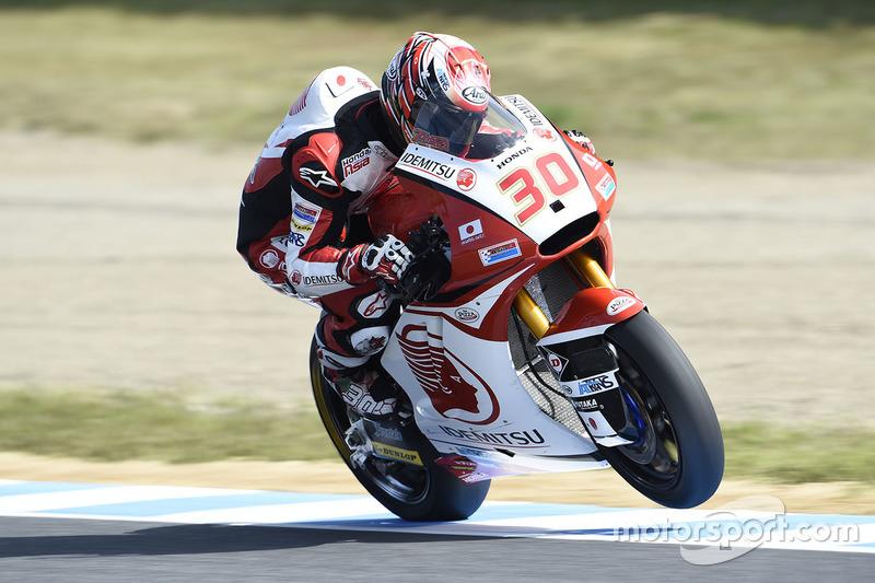 Takaaki Nakagami, Honda Team Asia