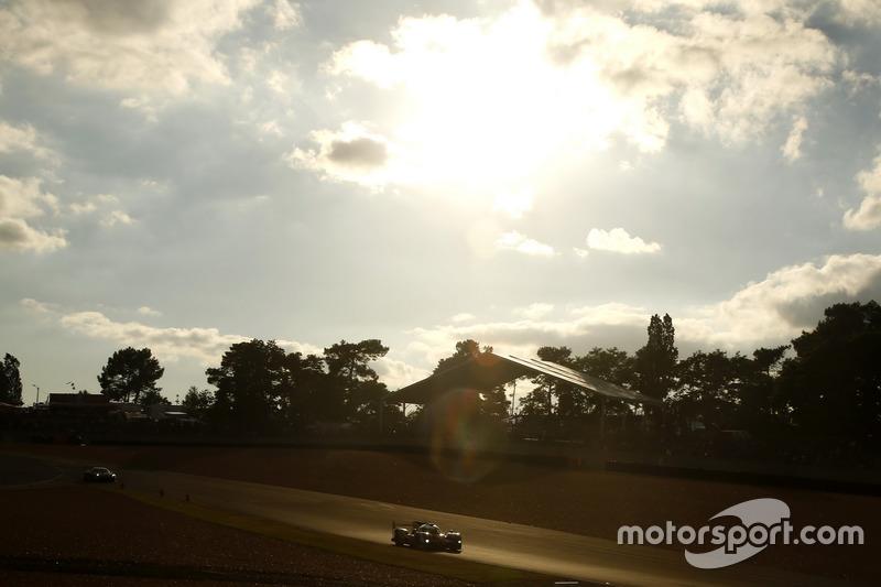 Abendstimmung in Le Mans