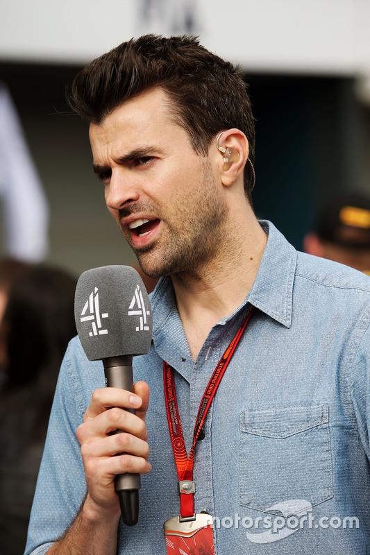 Steve Jones, Channel 4 F1 Presentator