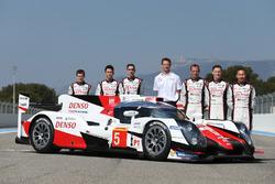#5 Toyota Racing Toyota TS050 Hybrid: Anthony Davidson, Sébastien Buemi, Kazuki Nakajima, Alexander