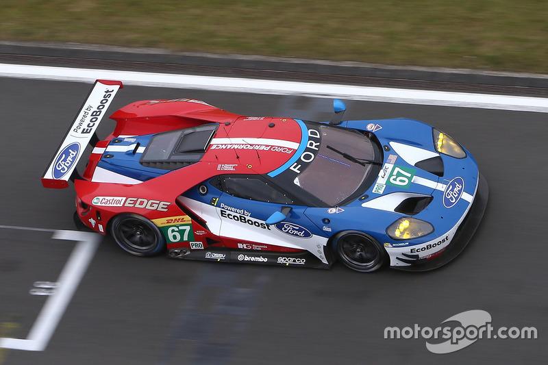 5. LMGTE-Pro: #67 Ford Chip Ganassi Racing Team UK, Ford GT