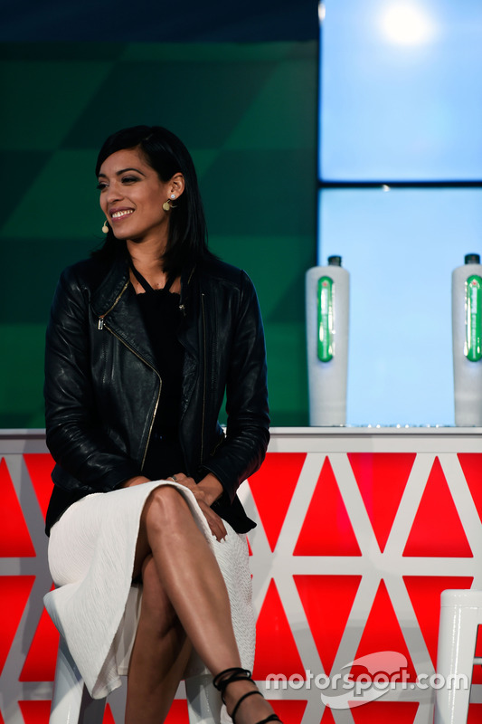 Stephanie Sigman, Actress, at a Heineken sponsorship announcement