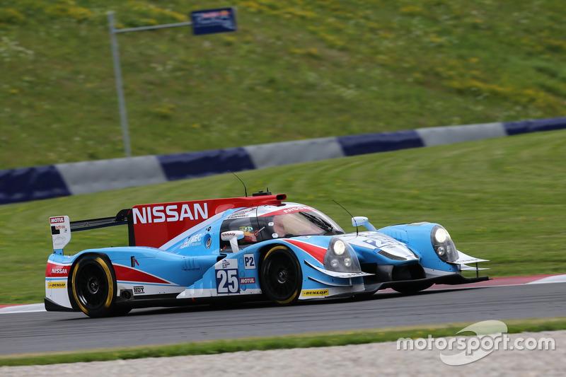 #25 Algarve Pro Racing Ligier JSP2 Nissan: Andrea Pizzitola, Michael Munema, Parth Ghorpa