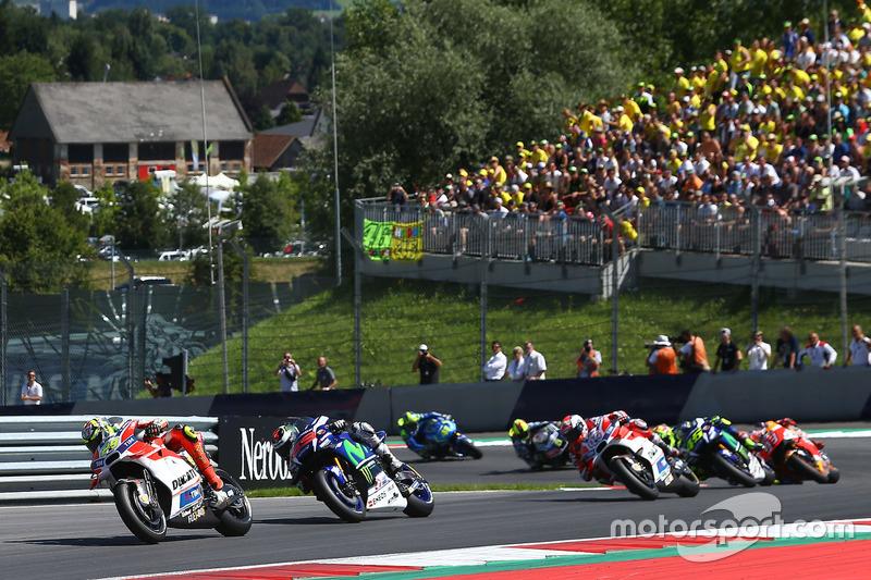 Andrea Iannone, Ducati Team, Jorge Lorenzo, Yamaha Factory Racing