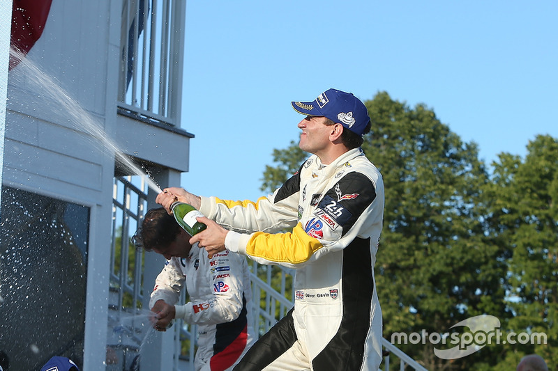 GTLM winner Oliver Gavin, Corvette Racing