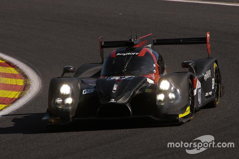 #47 Team WRT, Onroak Ligier JSP2: Laurens Vanthoor, Will Stevens, Dries Vanthoor