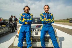 Paolo Andreucci, Stefano Accorsi e la Peugeot 205 T16