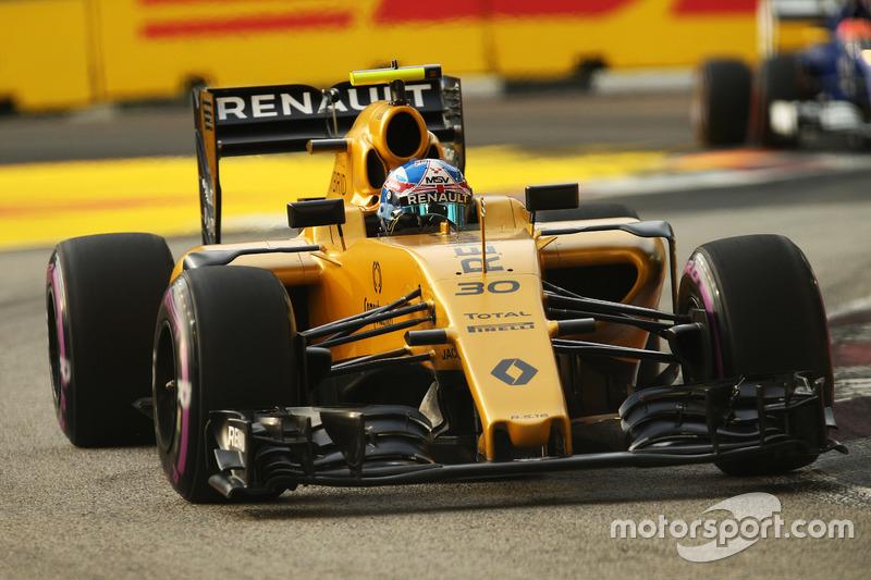 18º: Jolyon Palmer, Renault Sport F1 Team RS16