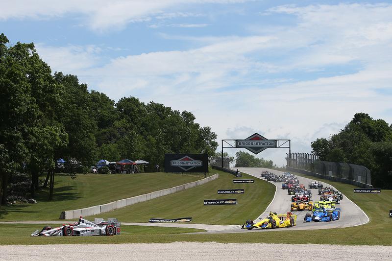 Start: Will Power, Team Penske Chevrolet lider