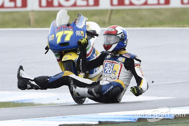 Аварія Лоренцо Петрарки, 3570 Team Italia