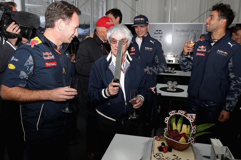 Bernie Ecclestone feiert Geburtstag